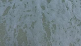 Woman Hand Paint Heart Symbol on beach Sand. Pensacola Beach, Florida. stock video footage
