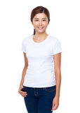 Woman hand in pocket Royalty Free Stock Photo