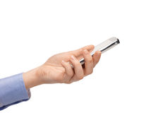 Woman hand with smartphone Stock Photography