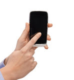 Woman hand with smartphone Stock Photo