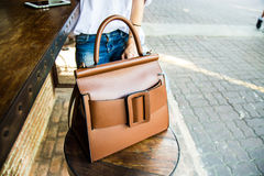 Woman handbag Stock Photography