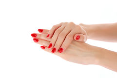Woman  hands Stock Images