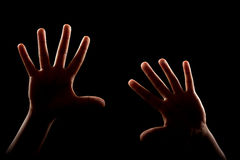 Woman hands arms royalty free stock images