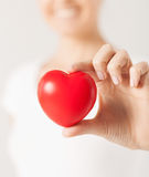 Woman hands with heart Royalty Free Stock Photo