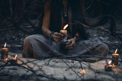 Free Woman Hands Holding Candle Close Up Royalty Free Stock Images - 117682799