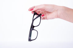 Free Woman Hands Holding Glasses Stock Photos - 49448523