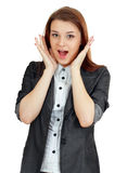 Woman hands up Royalty Free Stock Image