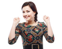 Woman happy smile Royalty Free Stock Photography