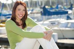 Woman Harbor Stock Photos