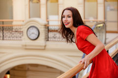 Woman has kept appointment Royalty Free Stock Photos