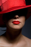 Woman In Hat Royalty Free Stock Images