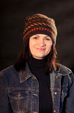 Woman in hat Royalty Free Stock Image