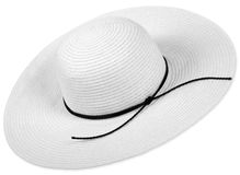 Woman hat Royalty Free Stock Image