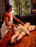 Woman having Ayurvedic spa treatment Royalty Free Stock Photos