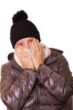 Woman Having Cold Stock Images