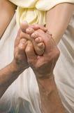 Woman Having Foot Massage Therepy Stock Photography
