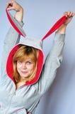Woman having fun Stock Photo