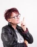 Woman having an idea Stock Image