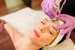Free Woman Having Microdermabrasion Facial Treatment Royalty Free Stock Photo - 87614925