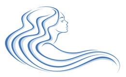 Woman head Royalty Free Stock Image