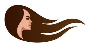 Woman head Stock Image