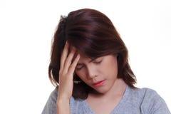 Woman Headache Royalty Free Stock Image