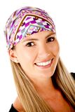 Woman with headscarf Royalty Free Stock Photos