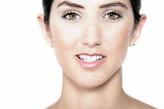 Woman in health and beauty pose Royalty Free Stock Photo