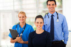 Woman health workers Royalty Free Stock Image