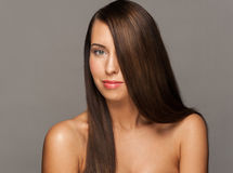 Woman with Healthy Long Hair Stock Photography