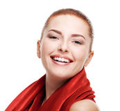 Woman with healthy skin Stock Photography