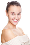 Woman with healthy smile Royalty Free Stock Image