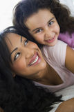 A woman with her daughter Royalty Free Stock Image