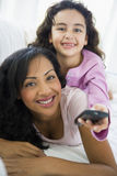 A woman with her daughter Royalty Free Stock Photography