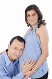 Woman with her husband Royalty Free Stock Photography