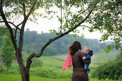 Woman with her little baby Stock Photography