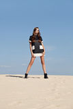 Woman in high fashion editorial concept. Stock Photo