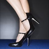Woman in high heels. Stock Photography