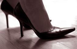 Woman In High Heels Stock Image