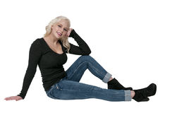 Woman in High Heels Royalty Free Stock Photos