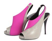 Woman high shoe Stock Photo