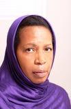 Woman in hijab Stock Photo