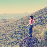 Woman Hiker Stock Image