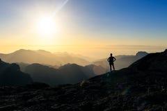 Mountains Ama Dablam Himalaya Landscape Stock Image
