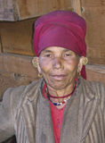 Woman of the Himalayas Royalty Free Stock Photography