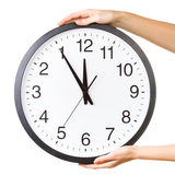 Counterclockwise clock Stock Photography