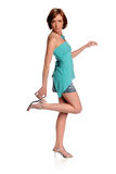 Woman Holding High Heel Royalty Free Stock Image