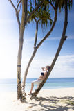 Woman on Holiday Royalty Free Stock Photography