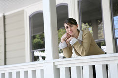 Woman at Home Royalty Free Stock Images