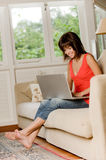 Woman At Home Stock Photos